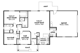 Ranch House Plan by Ranch House Plans Kettering 30 441 Associated Designs