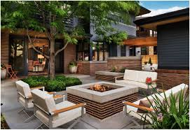 Backyard Cement Patio Ideas by Backyards Outstanding Brilliant How To Landscape A Concrete