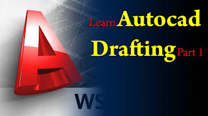 autocad tutorial basic 2d drafting in autocad in easy steps youtube