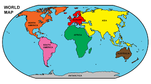 World Map Asia by Map Of South And North America With Countries Capitals And Major