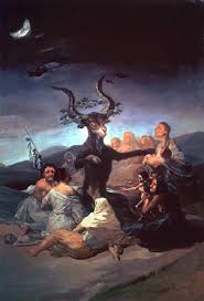 Witches' Sabbath is a 1798 oil on canvas by the Spanish artist Francisco Goya.
