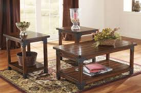 Dining Table Set Traditional Murphy Occasional Table Set By Ashley
