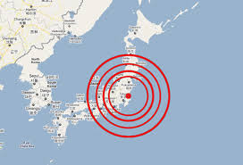 lokasi gempa jepang