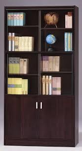furniture home cozy vintage glass door bookcase vintage glass