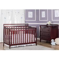 Convertible Crib Changer Combo by Carter U0027s Child Of Mine 4 In 1 Convertible Crib Chocolate Walmart Com