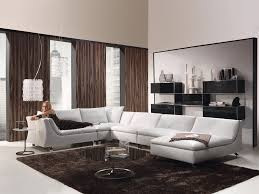 brown living room decoration drape curtains hupehome