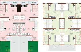 Common House Floor Plans by Row House Floor Plan Philippines Moreover Modern Garage Door Moreover