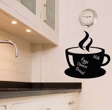 Kitchen Cabinet Quote Decor Quote Coffee Time Vinyl Kitchen Decals For Kitchen