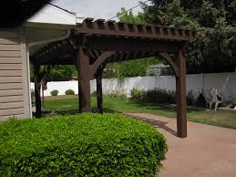 Timber Frame Pergola by Before U0026 After Backyard Transformation With Timber Frame Pergola