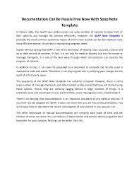 Documentation Can Be Hassle Free Now With Soap Note Template Documentation Can Be Hassle Free Now With Soap Note Template In today     s date  the health