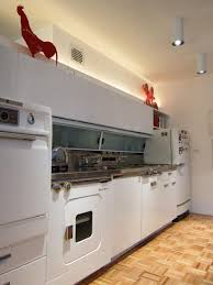 Retro Metal Kitchen Cabinets by The Ge Wonder Kitchen Introduced In 1955 Kitchens Condos And