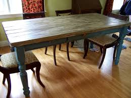 distressed wood dining table and chairs med art home design posters