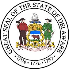 United States Map Delaware by Delaware Senate Wikipedia