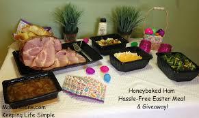 honey baked ham thanksgiving dinner let honeybaked ham make your easter hassle free u0026 50 giveaway