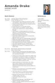 Assistant Property Manager Resume Sample by Download Leasing Manager Resume Haadyaooverbayresort Com