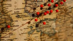 World Map Pinboard by Wall Map With Red Pins Youtube