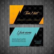Business Card Eps Template Business Cards Simple Design Templates Vector Image 60056