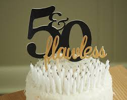 50th birthday decoration handcrafted in 3 5 business days