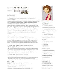 graphic artist resume examples graphic design and logos by web developers studio a nj web designer resume terri karp