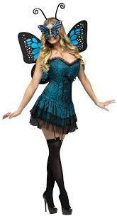 blue halloween costume c928fw butterfly baby fairy women fancy dress halloween