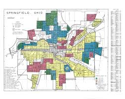 Springfield Oregon Map by Redlining Maps Maps U0026 Geospatial Data Research Guides At Ohio