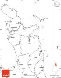 Blank Map Of Oceania by Blank Simple Map Of Thames Coromandel