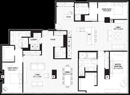 Penthouse Floor Plans Penthouse Floor Plans Optima Chicago Center