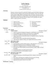 Personal Assistant CV Example for Admin   LiveCareer LiveCareer