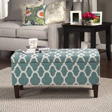 Large Storage Ottoman Coffee Table by Furniture Blue Storage Ottoman Coffee Table With Ottomans