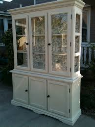 Kitchen China Cabinets China Cabinet Painted Ascp Old Ochre Furniture Pinterest
