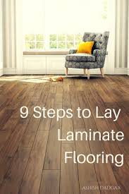 Toklo Laminate by How To Install Laminate Flooring On Wood Subfloor Dengarden