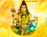 Wallpapers Backgrounds - 1024x768 Ganesh Chaturthi Wallpapers Picture Lord Shiva