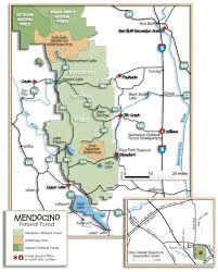 Map Of Colorado And Surrounding States by Mendocino National Forest Maps U0026 Publications