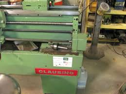 machine id u0027d nardini ms 1440 e metal lathe labeled clausing