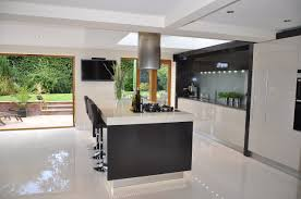 sleek kitchen designs for modern style living space