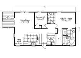 1 Bedroom Modular Homes Floor Plans by The Addison Sl2506e Manufactured Home Floor Plan Or Modular Floor