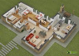 25 more 3 bedroom 3d floor plans simple free house plan maker l