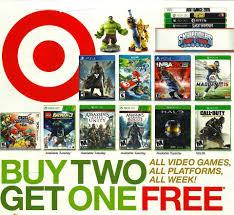 pre black friday sale at target target pre black friday ad 11 9 11 15 buy 2 get 1 free game all