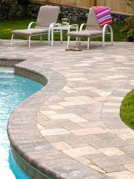 pool deck paving stones pictures pool deck pavers system