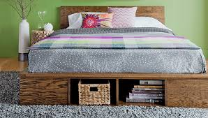 Woodworking Plans For A Platform Bed With Drawers by Free Build It Yourself Bed Plans