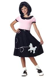 kids 50s costumes poodle skirts u0026 grease