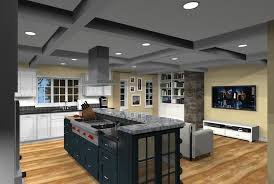 Decorating An Open Floor Plan Kitchen Addition With Open Floor Plan In Monmouth County New Jersey