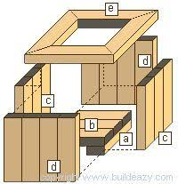 free outdoor cedar planter plan from woodworker u0027s journal a good