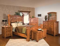 King Size Bedroom Set With Armoire Amazoncom Rustic 5 Pc Pine Log Bedroom Suite Lodge Bed Cali King