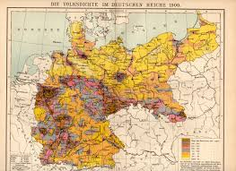 Population Density Map United States by German Empire Population Density 1900 Map Germany Deutschland