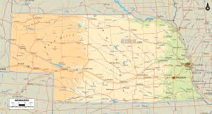 Boystown Chicago Map by Physical Map Of Nebraska Nebraska Pinterest Rivers And Lakes