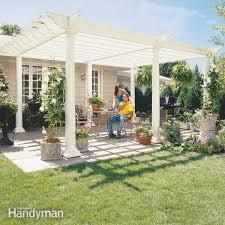 Enclosing A Pergola by Screen Porch Construction Family Handyman