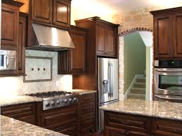 white countertops natural cherry kitchen cabinets stunning cherr