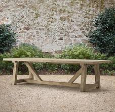 Building Plans For Picnic Table Bench by Best 25 Outdoor Tables Ideas On Pinterest Farm Style Dining