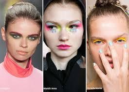 spring summer 2016 makeup trends colorful eye makeup
